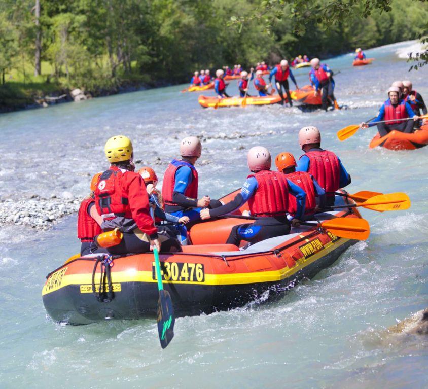"""Rafting am """"letzten Wilden"""""""