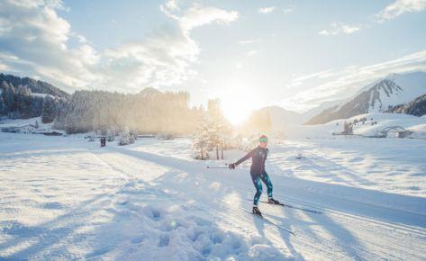 Langlauf im Zugspitzgebiet