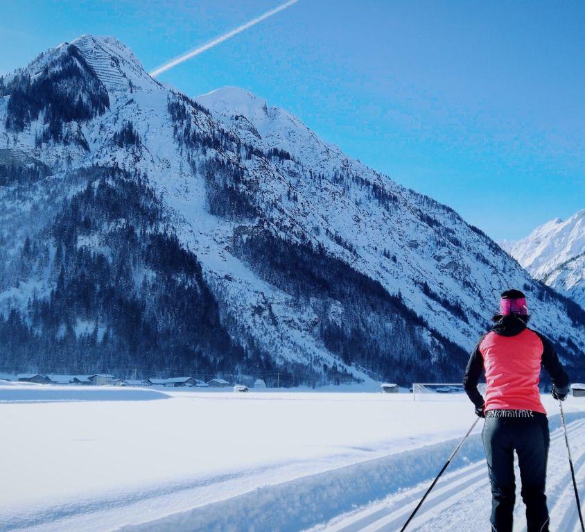 Langlaufen am Lech