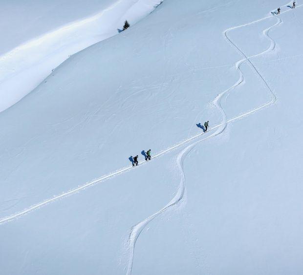 Skitouren in den Lechtaler Alpen