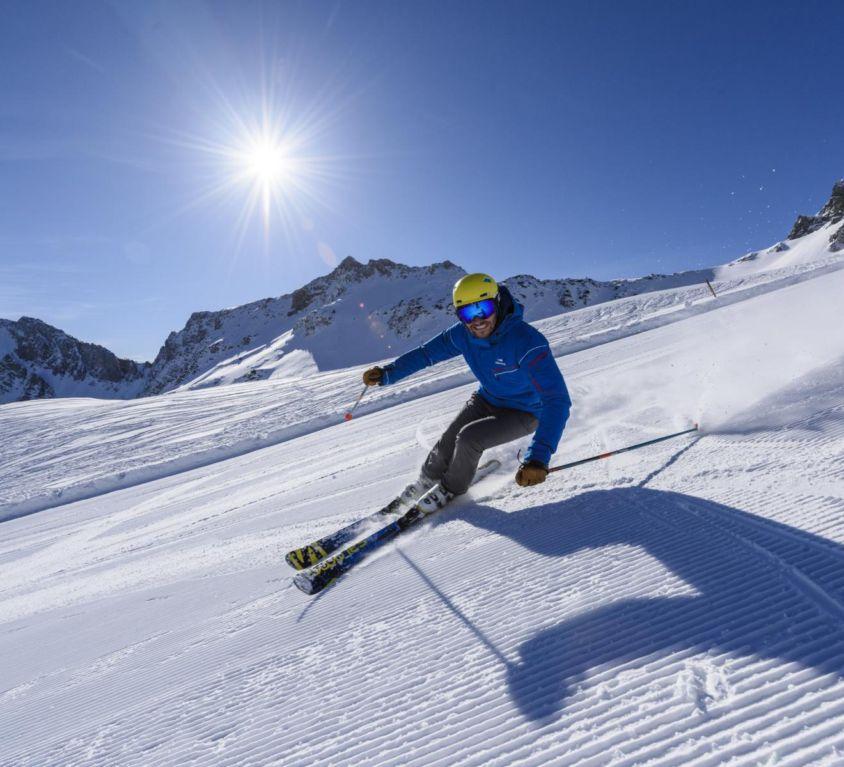 Skigebiet Schattwald – Zöblen